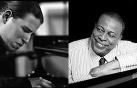 Los pianistas Alfredo Rodríguez y Chucho Valdés