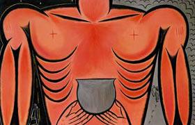 Obra del artista cubano José Bedia