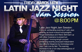 Jam Session en el Miami Dade County Auditorium