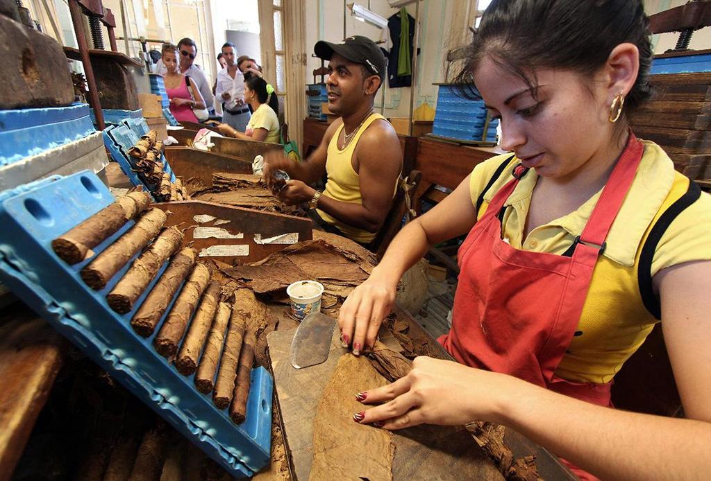 Trabajar en Cuba