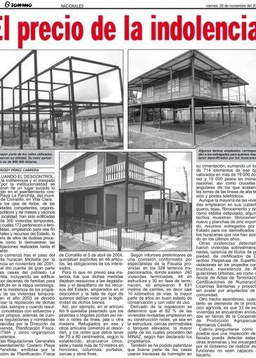 Descubierta en cuba una urbanizaci n de 300 viviendas - Paginas de viviendas ...