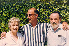 Bella García Marruz, Lorenzo Urbistondo y Eliseo Diego.