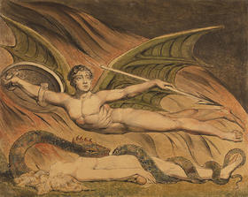 William Blake, Paradise Lost, 1795