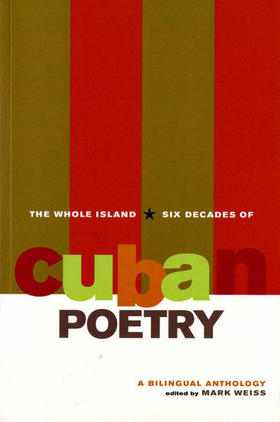 Portada de la antología The Whole Island. Six Decades of Cuban Poetry