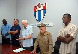 Asamblea del Comité Olímpico Cubano.