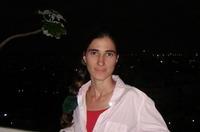 La bloguera Yoani Sánchez, en su casa de La Habana