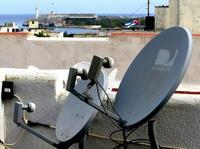 Antenas parabólicas, contra las que el gobierno mantiene una ofensiva