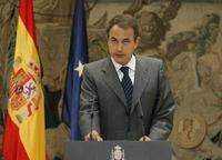 José L. Rodríguez Zapatero, presidente del gobierno español e impulsor del 'diálogo crítico' con La Habana.