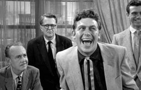 Andy Griffith en la película A Face in the Crowd