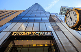 Edificio de Trump en Manhattan, Nueva York