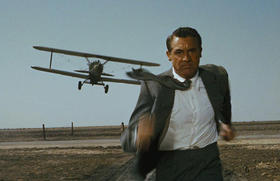 La famosa escena de North by Northwest (Intriga Internacional)
