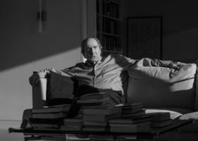 Philip Roth, fotografiado en su casa en Upper West Side, Manhattan, en enero de 2018